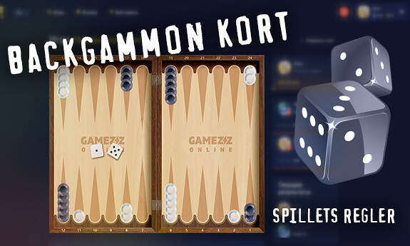 Backgammon kort
