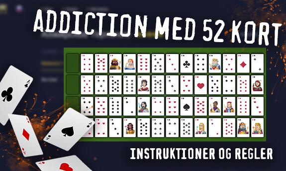 Addiction med 52 kort