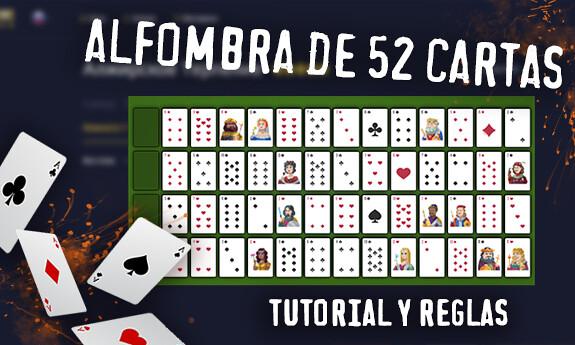 Alfombra de 52 cartas