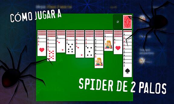 Spider de 2 palos