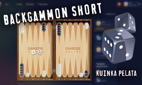 Backgammon short