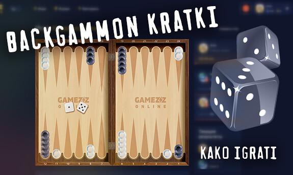 Backgammon kratki