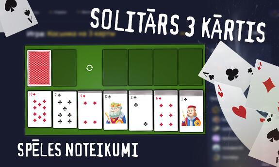 Klondaika 3 kārtis