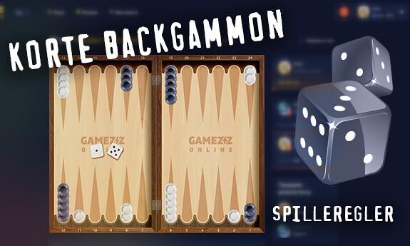 Korte backgammon