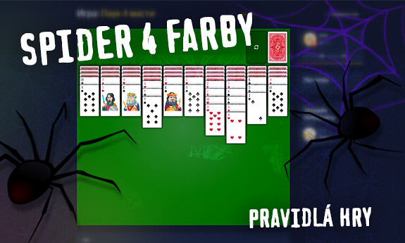 Spider 4 farby