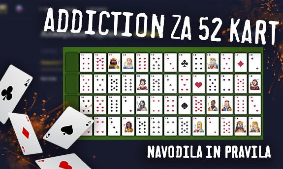 Addiction za 52 kart