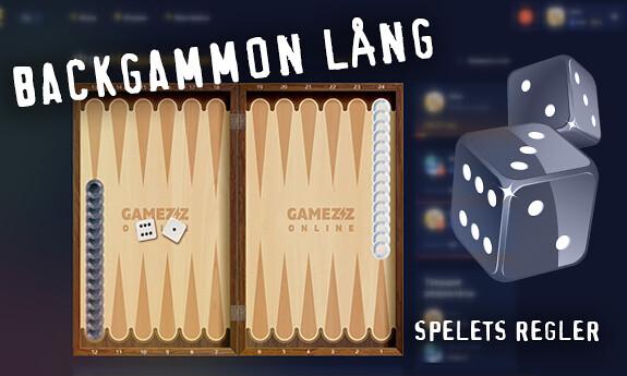 Backgammon lång