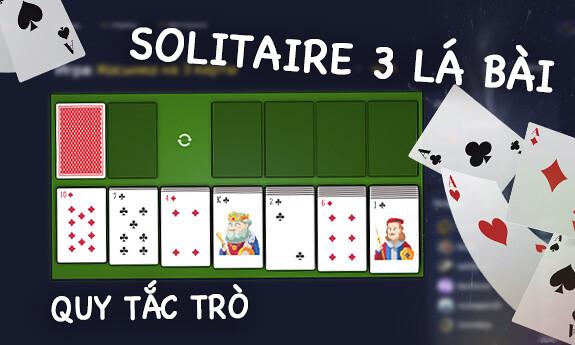 Solitaire 3 lá bài